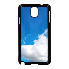 Bright Blue Sky 2 Samsung Galaxy Note 3 Neo Hardshell Case (Black)