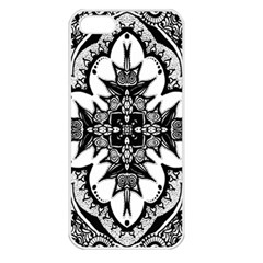 Doodle Cross  Apple Iphone 5 Seamless Case (white)