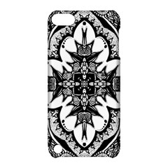 Doodle Cross  Apple Ipod Touch 5 Hardshell Case With Stand