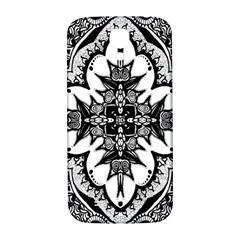 Doodle Cross  Samsung Galaxy S4 I9500/i9505  Hardshell Back Case