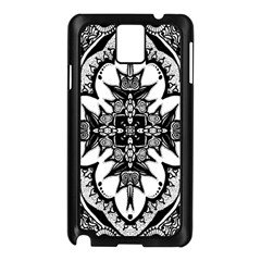 Doodle Cross  Samsung Galaxy Note 3 N9005 Case (black)