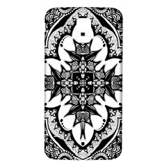Doodle Cross  Samsung Galaxy S5 Back Case (White)