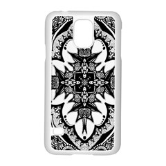 Doodle Cross  Samsung Galaxy S5 Case (White)