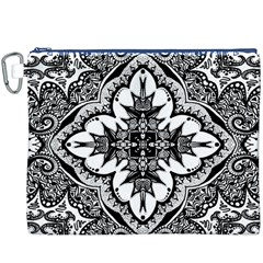 Doodle Cross  Canvas Cosmetic Bag (XXXL)