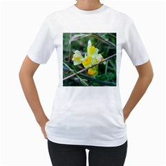 Linaria Women s Two-sided T-shirt (White)