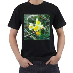 Linaria Men s Two Sided T Shirt (black)