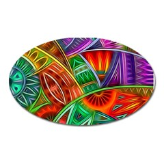 Happy Tribe Magnet (oval)