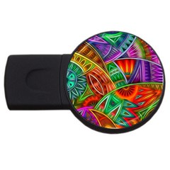 Happy Tribe 4gb Usb Flash Drive (round)