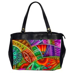 Happy Tribe Oversize Office Handbag (two Sides)
