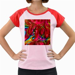 Music Festival Women s Cap Sleeve T Shirt (colored)