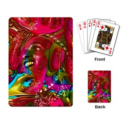Music Festival Playing Cards Single Design