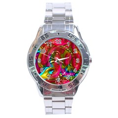 Music Festival Stainless Steel Watch
