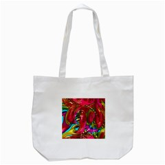 Music Festival Tote Bag (White)