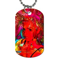 Mardi Gras Dog Tag (two Sided)