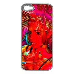 Mardi Gras Apple Iphone 5 Case (silver)