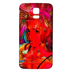 Mardi Gras Samsung Galaxy S5 Back Case (white)