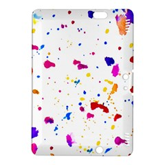 Multicolor Splatter Abstract Print Kindle Fire HDX 8.9  Hardshell Case