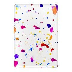 Multicolor Splatter Abstract Print Samsung Galaxy Tab Pro 12.2 Hardshell Case