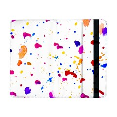 Multicolor Splatter Abstract Print Samsung Galaxy Tab Pro 8.4  Flip Case