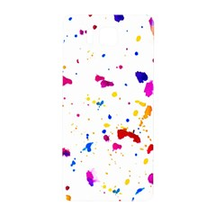Multicolor Splatter Abstract Print Samsung Galaxy Alpha Hardshell Back Case