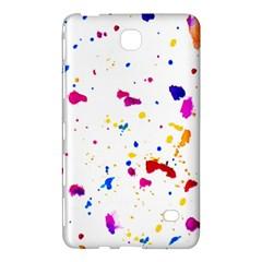 Multicolor Splatter Abstract Print Samsung Galaxy Tab 4 (7 ) Hardshell Case