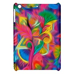 Colorful Floral Abstract Painting Apple Ipad Mini Hardshell Case