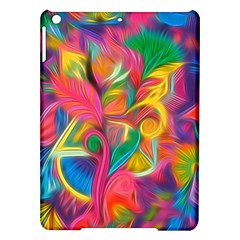 Colorful Floral Abstract Painting Apple Ipad Air Hardshell Case