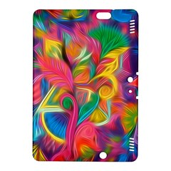 Colorful Floral Abstract Painting Kindle Fire Hdx 8 9  Hardshell Case