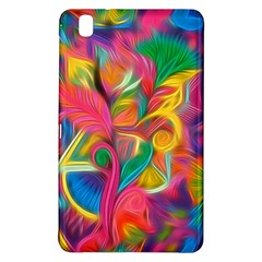 Colorful Floral Abstract Painting Samsung Galaxy Tab Pro 8 4 Hardshell Case