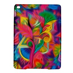Colorful Floral Abstract Painting Apple Ipad Air 2 Hardshell Case