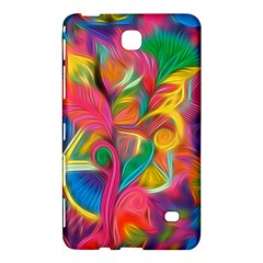 Colorful Floral Abstract Painting Samsung Galaxy Tab 4 (7 ) Hardshell Case