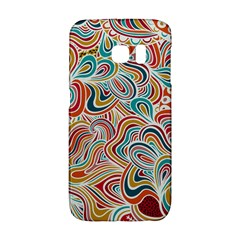 Doodle Patterns Samsung Galaxy S6 Edge Hardshell Case