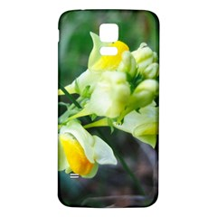 Linaria Flower Samsung Galaxy S5 Back Case (White)