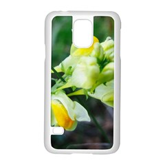 Linaria Flower Samsung Galaxy S5 Case (White)