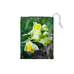 Linaria Flower Drawstring Pouch (Small)
