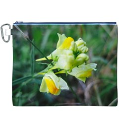 Linaria Flower Canvas Cosmetic Bag (XXXL)