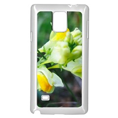 Linaria Flower Samsung Galaxy Note 4 Case (White)