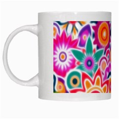 Eden s Garden White Coffee Mug
