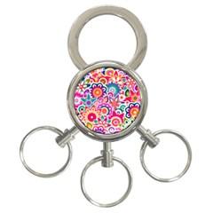 Eden s Garden 3 Ring Key Chain