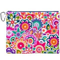 Eden s Garden Canvas Cosmetic Bag (XXXL)