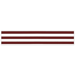 Marsala Stripes Flano Scarf (Small)