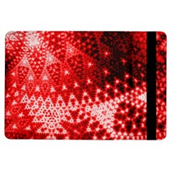 Red Fractal Lace Apple Ipad Air Flip Case