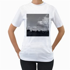 Abandoned Women s Two-sided T-shirt (White)