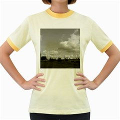 Abandoned Women s Ringer T-shirt (Colored)