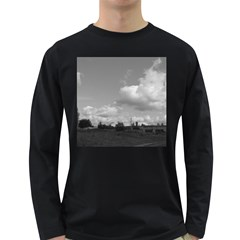 Abandoned Men s Long Sleeve T Shirt (dark Colored)