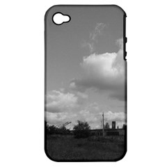 Abandoned Apple Iphone 4/4s Hardshell Case (pc+silicone)