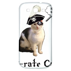 Pi Rate Cat Samsung Galaxy S3 S Iii Classic Hardshell Back Case