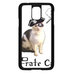 Pi-rate Cat Samsung Galaxy S5 Case (Black)
