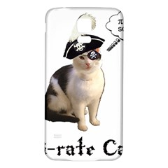 Pi-rate Cat Samsung Galaxy S5 Back Case (White)
