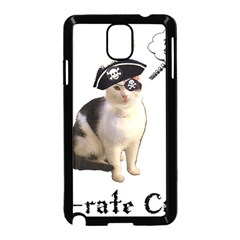 Pi Rate Cat Samsung Galaxy Note 3 Neo Hardshell Case (black)